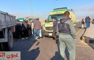 مصرع شخص في حادث مروري بالعاشر من رمضان