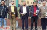 حملات توعية وتوزيع الكمامات بالمجان على المواطنين بالشرقية