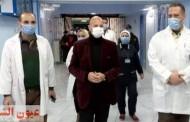 وكيل وزارة الصحة بالشرقية يتفقد عدد من مستشفيات المحافظة