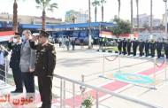 محافظ ومدير أمن الشرقية يضعان إكليلاً من الزهور على النصب التذكاري لشهداء الشرطة