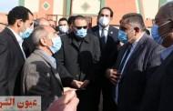 محافظ الشرقية يتفقد أعمال إنشاء مدرسة الطيار أحمد أبو هاشم الإبتدائية بكفر شاويش بفاقوس بتكلفة 6 مليون و 508 ألف جنيه