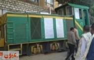 خروج قطار ديكوفيل عن مساره أثناء نقله محصول القصب بمحافظة أسوان