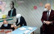 وكيل وزارة الصحة بالشرقية يشرف علي تطعيم أول الفرق الطبية بلقاح كورونا بمستشفي فاقوس