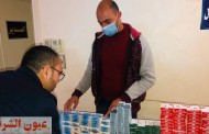 ضبط ٢١٥٥ مخالفة دوائية بمعمل خاص بأولاد صقر