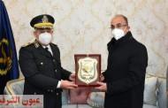 رئيس جامعة الزقازيق يهنيء قيادات مديرية أمن الشرقية بعيد الشرطة ال 69