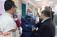 لليوم الثاني علي التوالي.. وكيل وزارة الصحة بالشرقية يتابع تطعيم الفرق الطبية بلقاح كورونا بمستشفي فاقوس