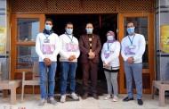 حملات توعية وتوزيع الكمامات بالمجان على المواطنين في الشرقية