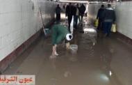 الأجهزة التنفيذية بالشرقية تكثف أعمال كسح مياه الأمطار وإزالة آثاره بعد التعرض لموجه لطقس السيئ وسقوط الأمطار الغزيرة
