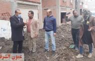 حملات نظافة وتسوية وتمهيد الطرق وصيانة كشافات الإنارة بقرى مركز ومدينة ههيا