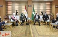 محافظ الشرقية يلتقي بأعضاء مؤسسة حياة كريمة التابعة لرئاسة الجمهورية