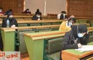 وزير التعليم العالي ورئيس جامعة القاهرة يتفقدان لجان إمتحانات الفصل الدراسي الأول