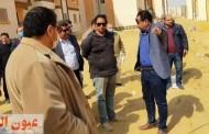 مسئولو جهاز حدائق أكتوبر يتفقدون سير العمل بالمشروعات المختلفة بالمدينة