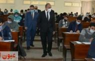 رئيس جامعة الزقازيق يتفقد سير إمتحانات الفصل الدراسي الأول وسط إجراءات إحترازية مشددة