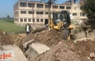 حملات مكبرة لإزالة التعديات المخالفة على الأرض الزراعية والبناء بدون ترخيص بالشرقية