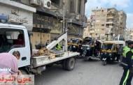 ضبط 83 توك توك مخالف خلال حملة مرورية مكبرة بمدينة الزقازيق