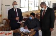 عمداء كليات جامعة الأزهر يتفقدون لجان إمتحانات الفصل الدراسي الأول