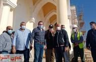 مسئولو الإسكان يقومون بجولة تفقدية للمشروعات المختلفة بمدينة العلمين الجديدة