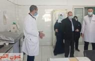 مدير التأمين الصحي بالشرقية يتفقد مستشفى العاشر من رمضان..ويوصي بالمعاملة الحسنة للمرضى وتوفير الأدوية والمستلزمات اللازمة