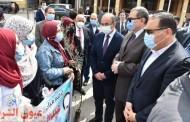 وزير القوى العاملة ومحافظ الشرقية ورئيس جامعة الزقازيق يشاركون في مبادرة