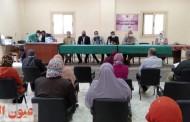 محاضرة توعوية عن مخاطر الهجرة غير الشرعية بثقافة أبوحماد