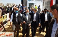 وزير النقل ومحافظ الشرقية يتفقدان محطتي قطارات منيا القمح والزقازيق