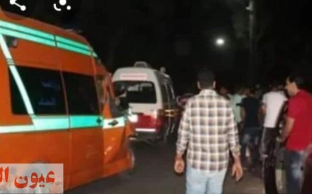 مصرع شخصين إثر حادث تصادم سيارتين في الشرقية
