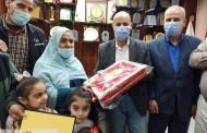 مسعود يكرم كبير أخصائيين شئون مالية بالشرقية لبلوغها سن المعاش