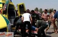 مصرع 3 أشخاص وإصابة 8 فى حادثين بالشرقية