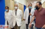 وكيل وزارة الصحة بالشرقية يتفقد سير العمل بمستشفي الصدر بالزقازيق وأعمال التطوير الجارية