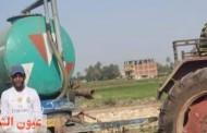 القبض على سائق جرار كسح صرف صحي يلقى بحمولته في مياه بحر فاقوس / الحسينية