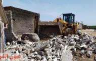 إزالة 1236حالة تعدي على الأرض الزراعية بمراكز ومدن الشرقية