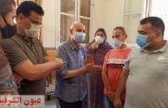 وكيل وزارة الصحة بالشرقية يختتم جولتة المكوكية لليوم الثالث لعيد الفطر بمتابعة تطعيم المواطنين بلقاح كورونا
