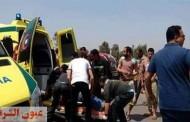 سيارة طائشة تقتل الصديقين وتصيب الثالث فى الشرقية