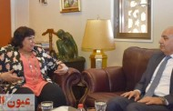 وزيرة الثقافة تستقبل سفير الأردن بمصر لبحث سبل تعزيز التعاون الفكري والفنى بين البلدين