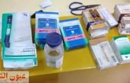 ضبط ١٧٨٤ مخالفة دوائية منها ألبان أطفال مجهولة المصدر بحملة علي الصيدليات بفاقوس وكفر صقر