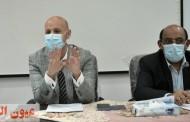 وكيل وزارة الصحة بالشرقية ووكيل المديرية يجتمعان بمديري الإدارات الصحية لمناقشة خطة العمل اليومية