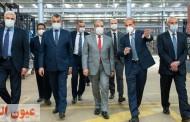 وزير الدولة للإنتاج الحربي يتفقد خطوط الإنتاج بأحد المصانع التابعة لشركة صناعة وسائل النقل MCV