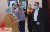 مدير التأمين الصحي بالشرقية يطمئن على سير العمل بعيادة القنايات
