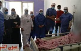 إجراء عملية منظار عاجل لسيدة ألمانية بمستشفي منيا القمح المركزي