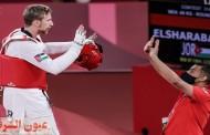 الأردني صالح الشرباتي يضمن ميدالية بعد صعوده لنهائي الملاكمة