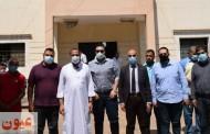 وكيل وزارة الصحة بالشرقية يتفقد الوحدات الصحية بمنيا القمح