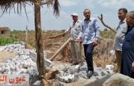 نائب رئيس مركز ومدينة ههيا يقود حملة مكبرة لإزالة التعديات على الأراضي الزراعية في المهد