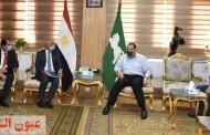 محافظ الشرقية يلتقي مسؤول ملف أملاك الدولة بوزارة التنمية المحلية