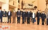 محافظ الشرقية يزور مقر الكلية الجوية لتقديم التهنئة لمدير الكلية الجديد