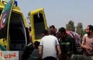 مصرع وإصابة ١٥ شخص في ٣ حوادث بالشرقية