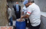 غلق مخزن تابع لأحد المولات التجارية لمطعم شهير لنقص الإشتراطات الصحية بهما