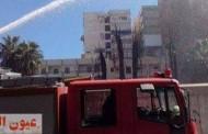الدفاع المدني يسيطر على حريق بشارع دار الرماد بالفيوم