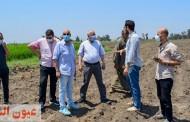 وكيل وزارة الصحة بالشرقية يعاين الأراضي المتبرع بها لتطوير الوحدات الصحية بقري الحسينية