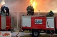 السيطرة على حريق بمصنع للزجاج وأخر بمخلفات صلبة بالعاشر من رمضان