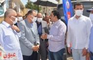 محافظ الشرقية ورئيس مدينة بلبيس يُتابعان سير إنتظام أعمال حملة